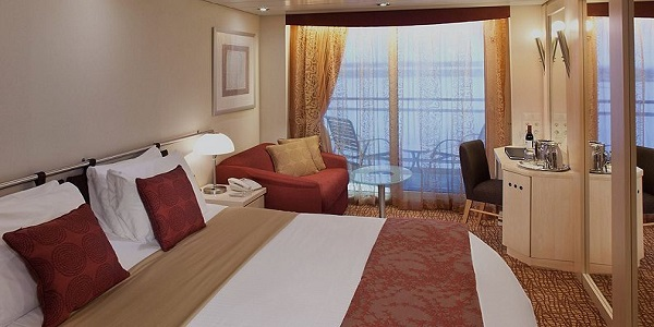 Balcony Stateroom - Celebrity Summit