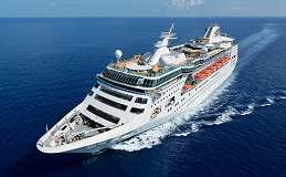 Royal Caribbean's Empress of the Seas Sailing to Southampton England to bring crew home
