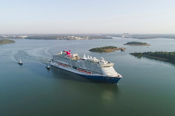 Carnival Cruises Mardi Gras Sea Trials.