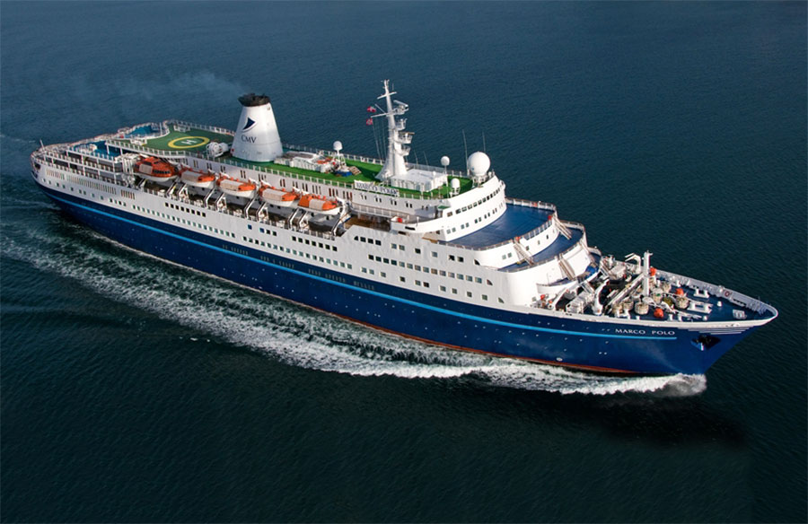 Marco Polo Cruise and Maritime Voyages Sold for Scrap