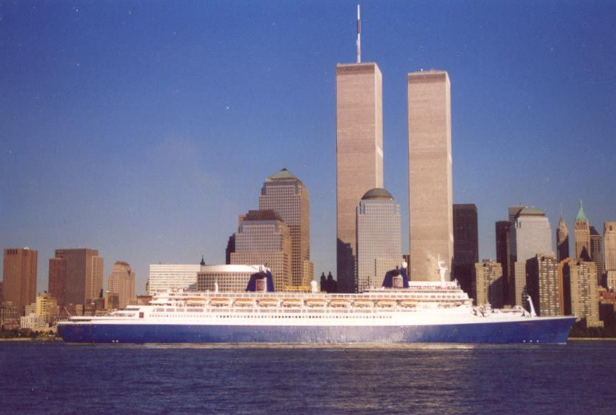 One of the last professional photos taken of the World Trade Center taken on September 5th 2001